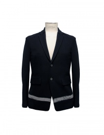 Cy Choi black jacket with white stripe online