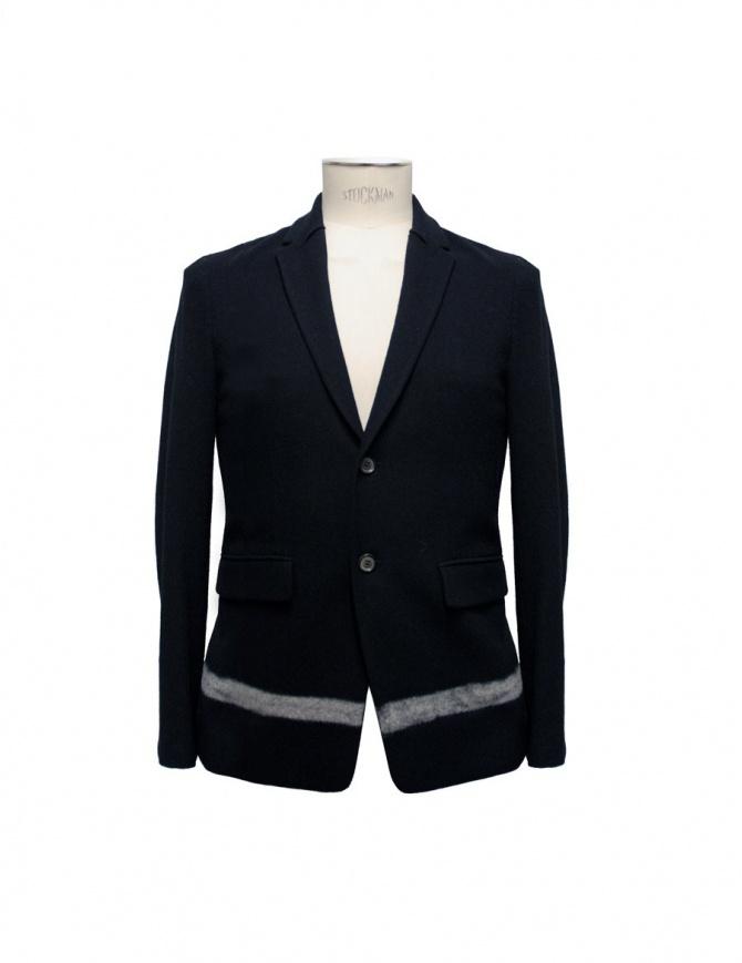 Giacca Cy Choi colore nero banda bianca CA57J01ARK00 giacche uomo online shopping