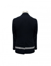 Cy Choi black jacket with white stripe