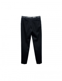 Cy Choi Hand Printed black trousers