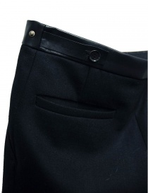 Cy Choi Hand Printed black trousers price