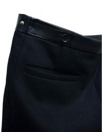 Pantalone Cy Choi Hand Printed nero prezzo