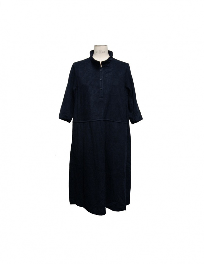 Casey Casey navy dress 05FR79C-NAVY womens dresses online shopping