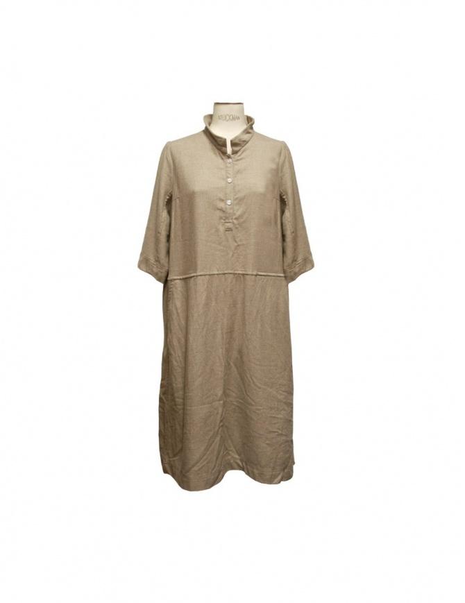 Casey Casey beige dress 05FR79-BEIGE womens dresses online shopping