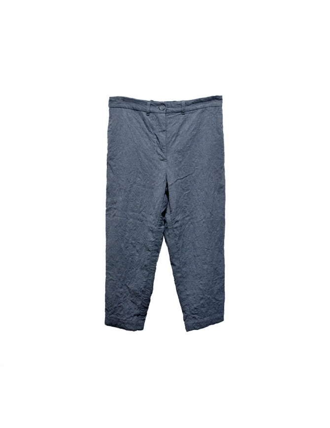 Casey Casey gray trousers 05FP21F-GREY womens trousers online shopping