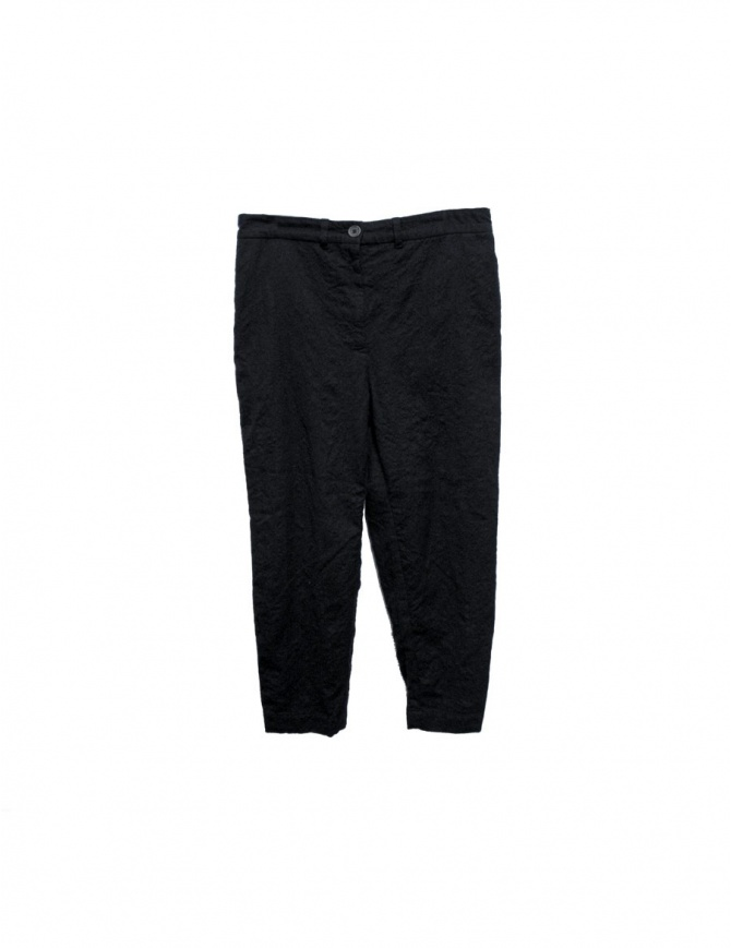 Casey Casey black trousers 05FP21F-BLK womens trousers online shopping