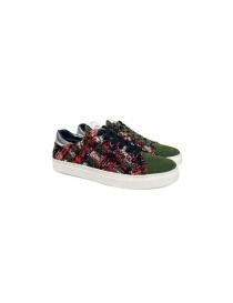 Sneaker Yoshio Kubo colore verde YKF15916 KHAKI order online