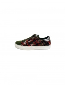 Yoshio Kubo green sneakers buy online