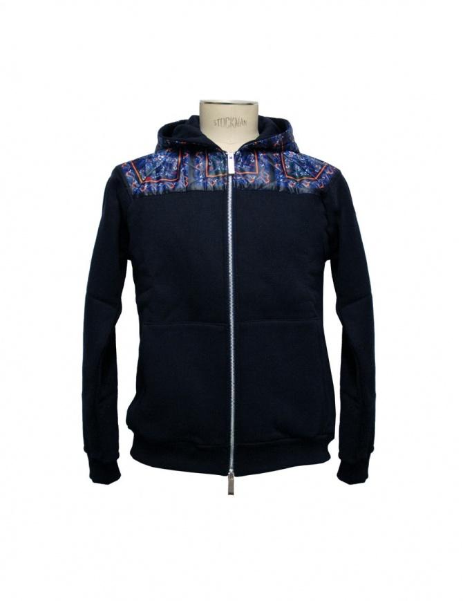 Yoshio Kubo by Toyoki Adachi sweatshirt YKF15809-NAV mens knitwear online shopping