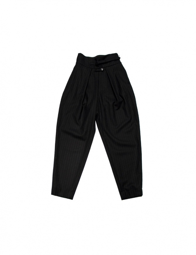 FadThree navy trousers 12FDF02-20-6 womens trousers online shopping