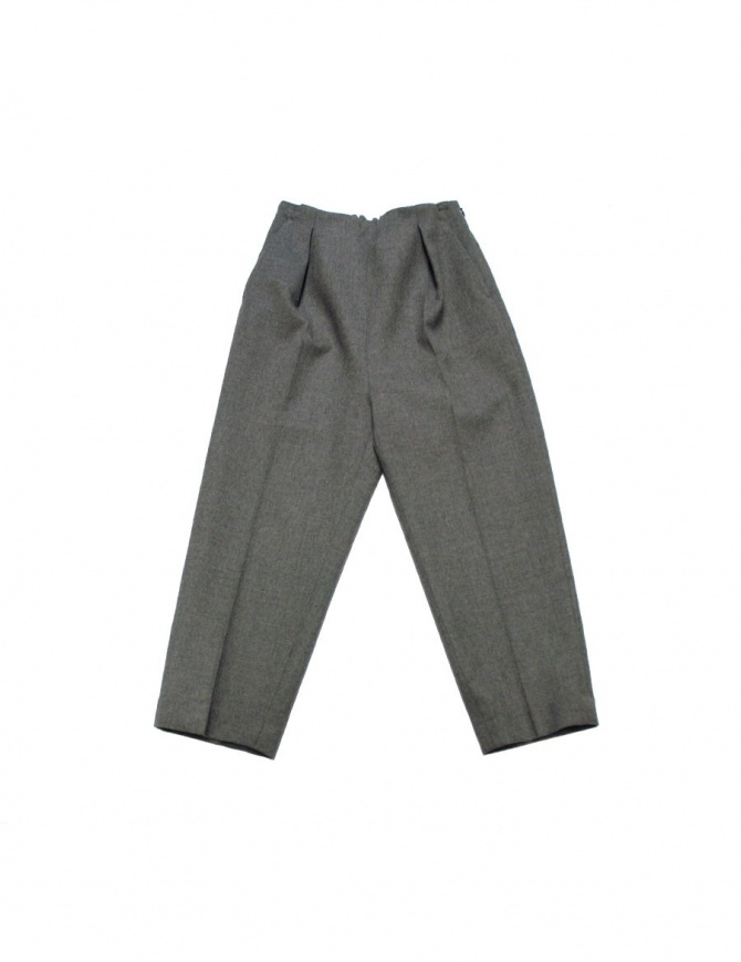 FadThree grey trousers 12FDF02-24-01 FRAY womens trousers online shopping
