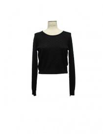 Maglia Court Carven colore nero 830PU04 999 order online