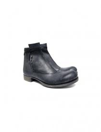 Stivaletto Ematyte in pelle colore grigio scuro ART-B 20A GREY R HORSE order online