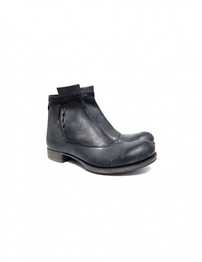 Stivaletto Ematyte in pelle colore grigio scuro ART-B 20A GREY R HORSE calzature uomo online shopping