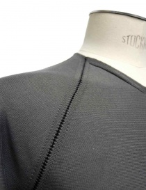 ZIPPED SEAMS YARDSTICK LABEL UNDER CONSTRUCTION SWEATER price