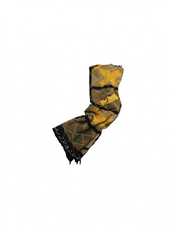 KAPITAL SCARF K1511XG427 KHAKI scarves online shopping