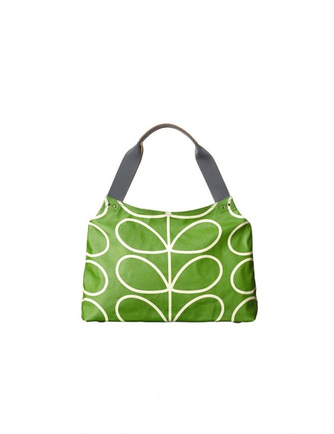 Borsa Orla Kiely verde mela 15AELIN024 APPLE borse online shopping
