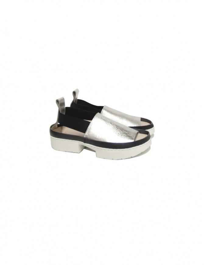 Allen F Trippen sandals ALLEE F LAM WAX WHT womens shoes online shopping