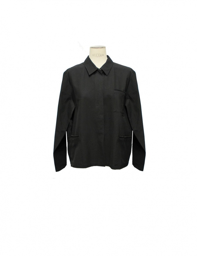 Black shirt Sara Lanzi 01ACV09 womens shirts online shopping