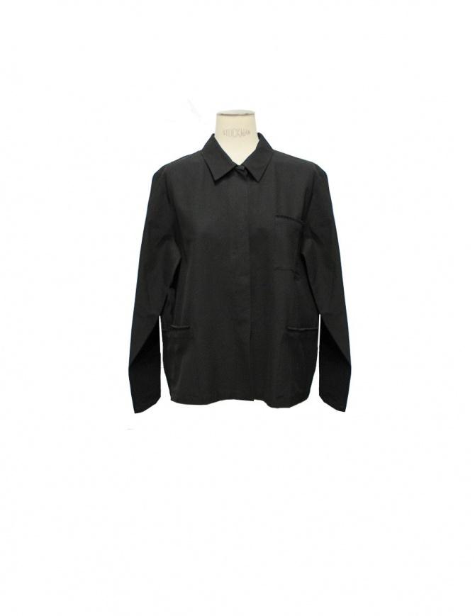 Camicia nera Sara Lanzi 01ACV09 camicie donna online shopping