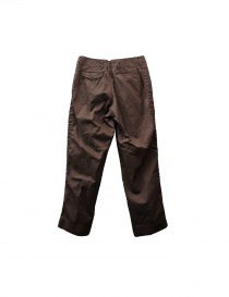 Kolor brown cotton trousers buy online