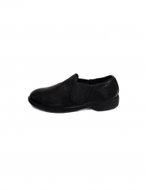 Black leather Guidi 109 shoes (female style)