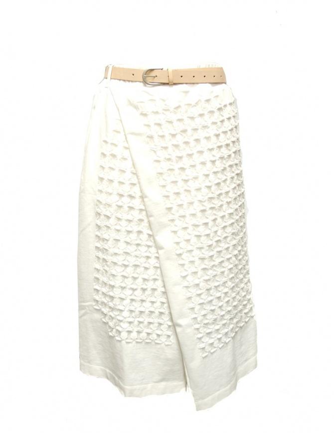 Gonna IL by Saori Komatsu 201-426 WHITE gonne donna online shopping