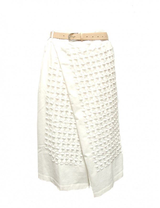 IL by Saori Komatsu Skirt 201426 white womens skirts online shopping