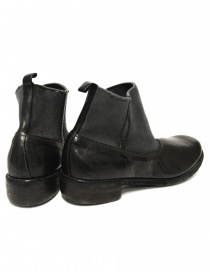 Black leather ankle boots Guidi E98 price