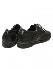 Black leather Guidi 110 shoes price