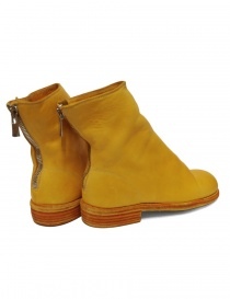 Guidi 986 leather yellow ankle boots price