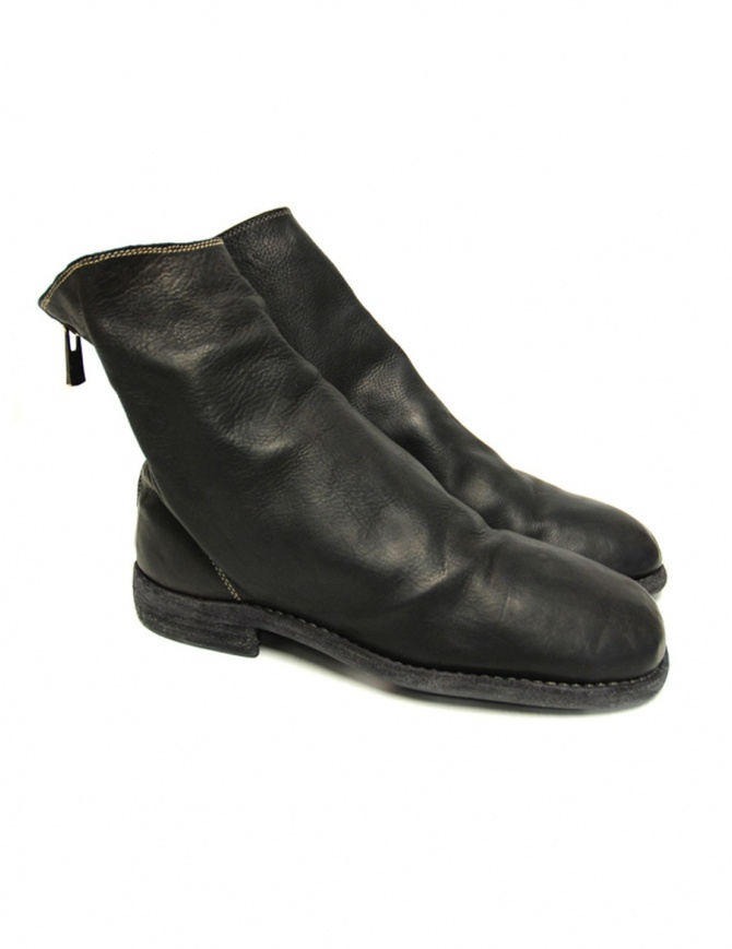 Stivaletto Guidi 986 MS in pelle nera di vitello 986MS BABY CALF FULL GRAIN BLKT calzature donna online shopping