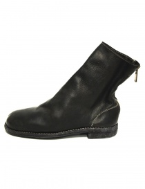 Guidi 986MS black ankle boots in calf leather
