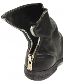 Guidi 986MS black ankle boots in calf leather womens shoes buy online