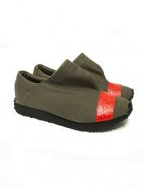 Canvas red Kapital shoes K1603XG526 RED order online