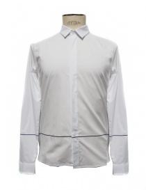 Camicia Cy Choi bianca con riga nera CA65S02AWH00