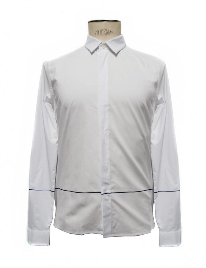 Camicia Cy Choi bianca con riga nera CA65S02AWH00 camicie uomo online shopping