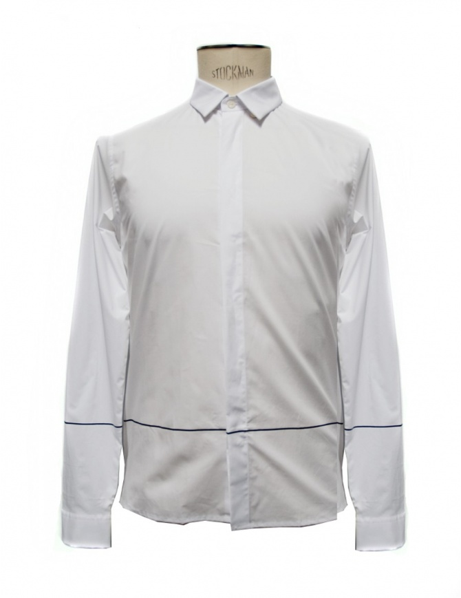 Cy Choi white cotton shirt CA65S02AWH00 mens shirts online shopping