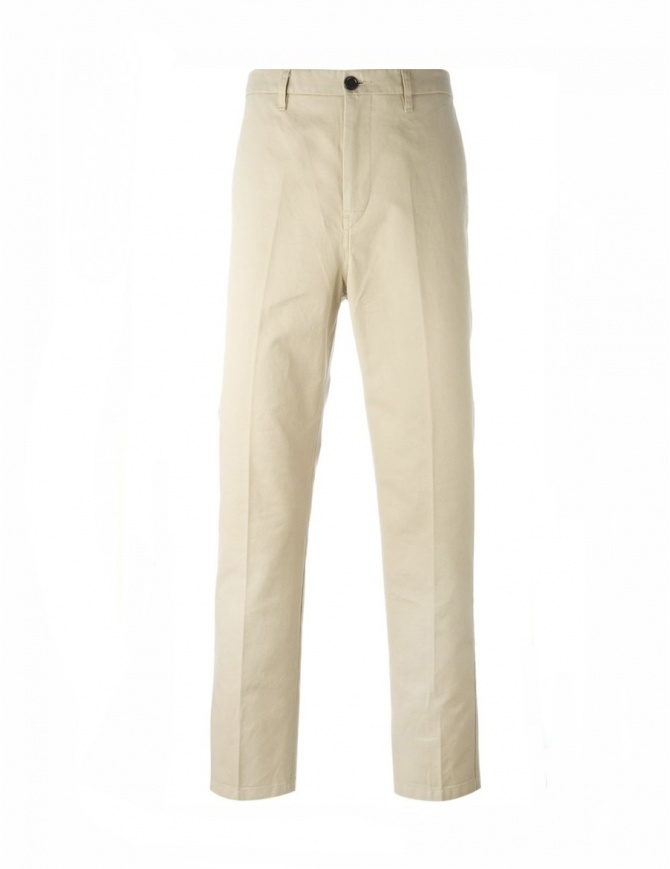 Pantalone Chino Sand Golden Goose G28MP502A5 pantaloni uomo online shopping