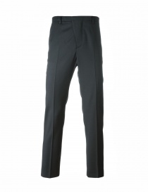 Golden Goose grey pleated-front pants online