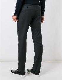 Pantalone Golden Goose grigio con la piega