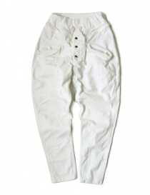 Womens trousers online: Kapital white pants