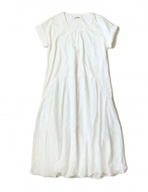 Kapital white cotton knee-length dress online