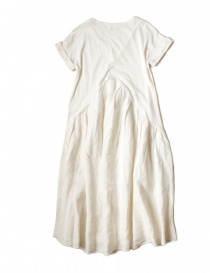 Kapital white cotton knee-length dress