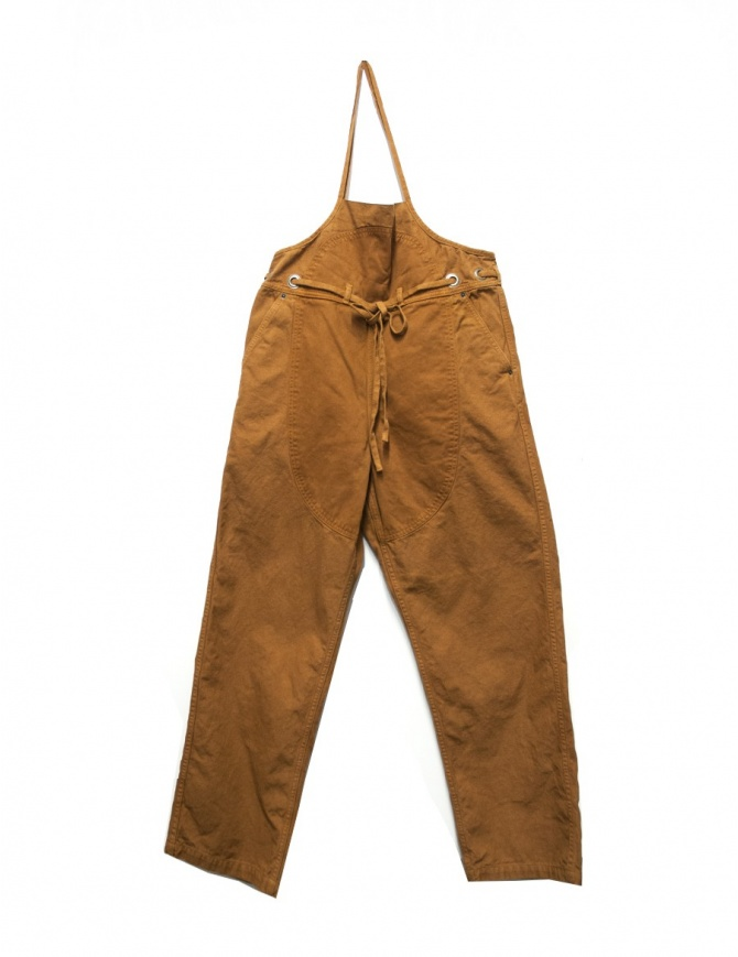 Pantalone salopette in cotone Kapital EK237 pantaloni donna online shopping