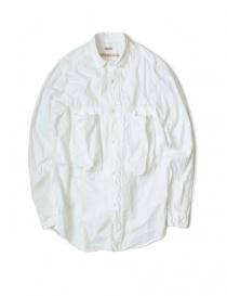 Camicia bianca in cotone Kapital online
