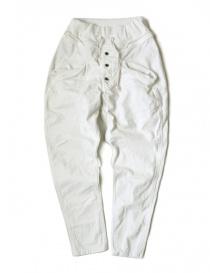 Pantalone bianco Kapital da uomo EK-169 wh