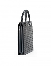 Alligator leather Tardini medium briefcase