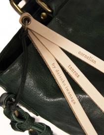 Borsa Cornelian Taurus by Daisuke Iwanaga colore verde acquista online