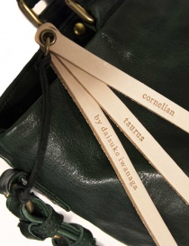 Cornelian Taurus by Daisuke Iwanaga bag green color